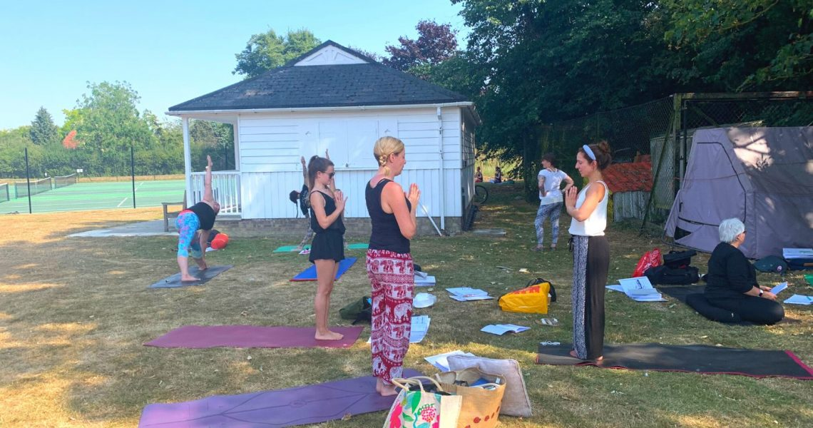 Teaching Yoga is an Exploration of the Self