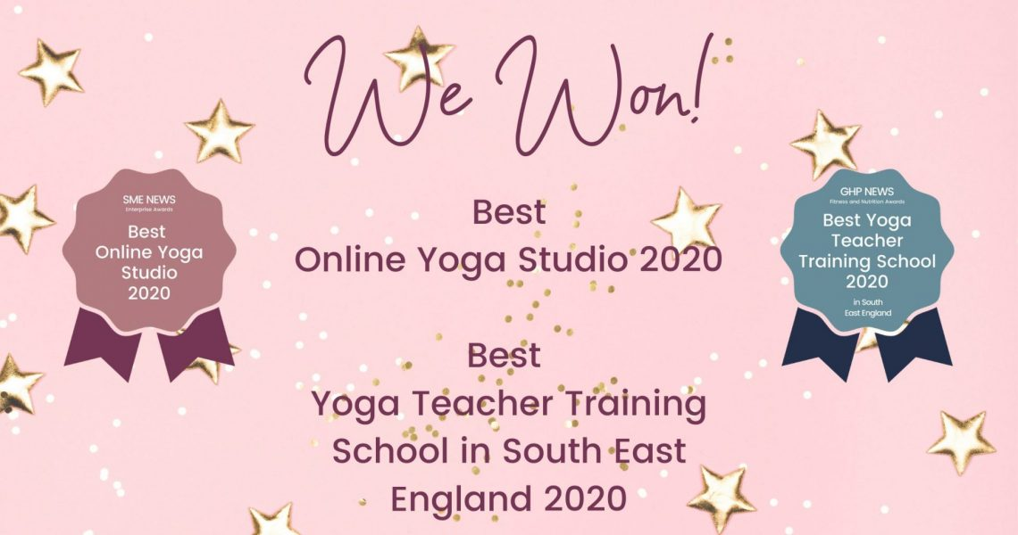 We Are a Multi-Award Winning Yoga Studio!